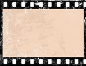 Grunge filmový snímek — Stock vektor