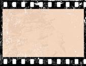 Quadro de filme do grunge — Vetorial Stock
