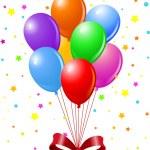 Party Balloons — Stock Vector
