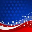 americký pozadí — Stock vektor