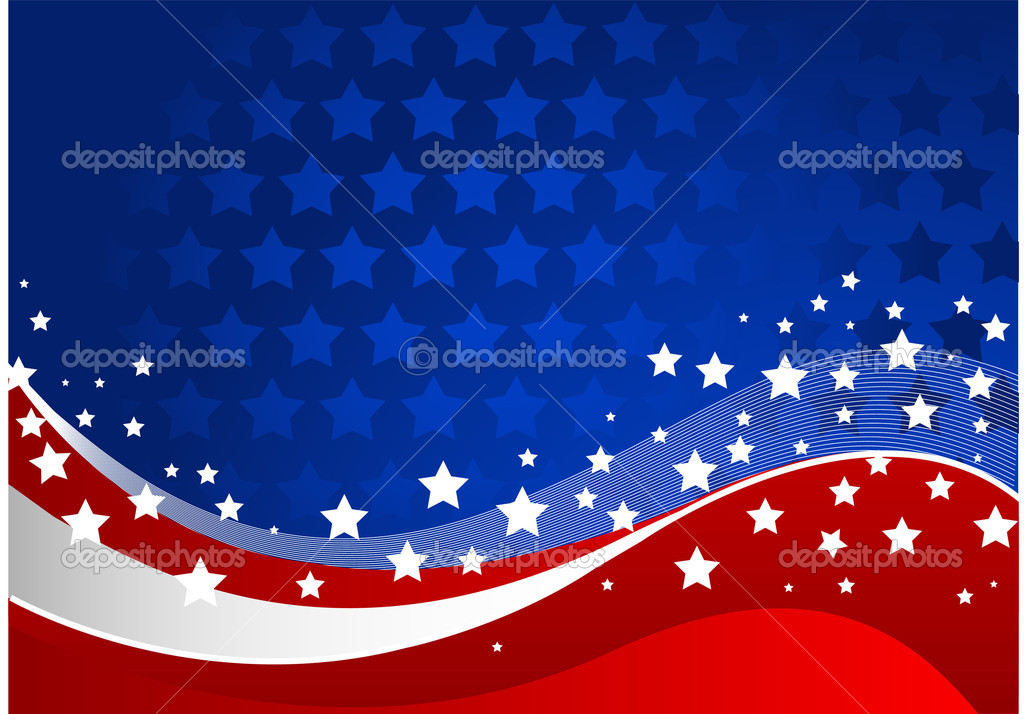 Fourth of July celebration background  Stock Vector #3136806