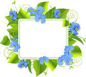 Summer frame — Stock Vector