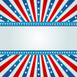 Star spangled banner — Vector de stock
