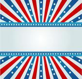 звезда spangled знамя — Cтоковый вектор