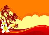 Yaz tatili — Stok Vektör