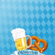 Oktoberfest Celebration - Stock Vector