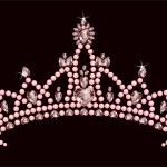 Princess Crown — Stock Vector