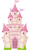 Castelo mágico — Vetorial Stock