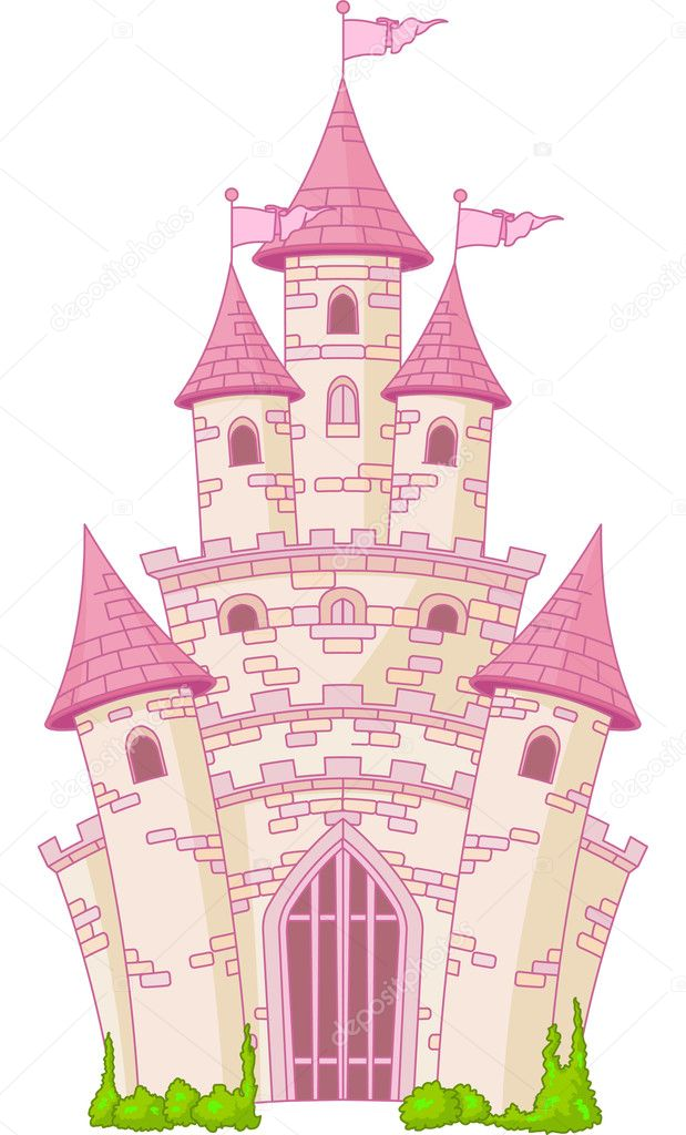 魔幻城堡 — 图库矢量图像08