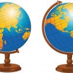 World globe — Stock Vector