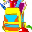 Back to School - Imagen vectorial