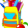 Back to School - Image vectorielle