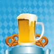 Oktoberfest Celebration Background — Vettoriali Stock