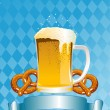 Oktoberfest Celebration Background — Vector de stock #3702441