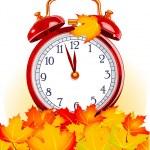 temps de l'automne — Vecteur
