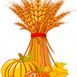 Royalty-Free Stock Imagen vectorial: Thanksgiving / harvest background