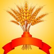 Ears of wheat — Imagen vectorial