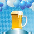 Oktoberfest Celebration Background — Vector de stock #3828543