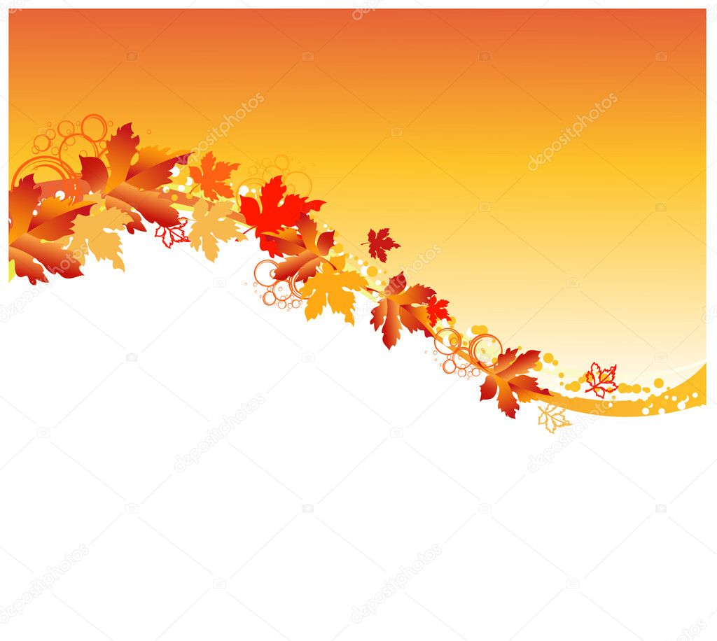 Autumn frame — Stock Vector #3803369