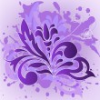Lilac flower on the spray - Stock Vector