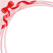 Luk na do růžova — Stock vektor