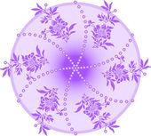 紫圆 — 图库矢量图片