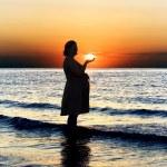 kobieta w ciąży — Zdjęcie stockowe