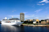 The big cruise liner — Stock Photo