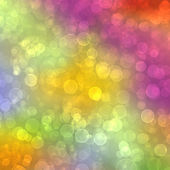 Multicolored background with blur boke — Stockfoto