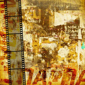 Grunge graphic abstract background — Fotografia Stock