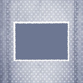 Abstract grey jeans background — Stock Photo