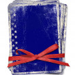 Celebration card with patriotic symbols — Foto de Stock