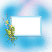 Card for invitation or congratulation — Stock Photo