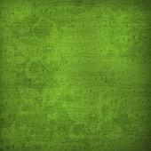 Starý odcizil hudební papír — Stock fotografie