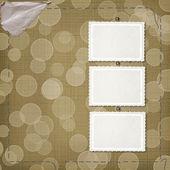Cartão no fundo com boke — Foto Stock