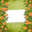 Foto de Stock  : Grunge paper for congratulation