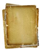 古いページのリボンと弓 — ストック写真