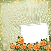 Grunge de papel con la pintura rosa — Foto de Stock
