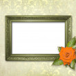 Stock Photo: Old grunge frames Victoristyle