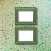 Old grunge frames Victorian style — Stock Photo