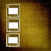 Old alienated slides — Stockfoto