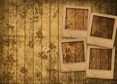Old grunge paper slides — Stock Photo