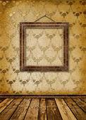 Oude gouden frames victoriaanse stijl — Stockfoto