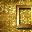 Old gold frame Victorian style — Stock Photo #3435379
