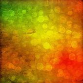 Multicolored background with blur bokeh — Stock Photo