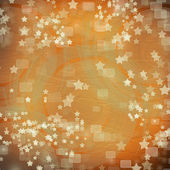 Multicoloured backdrop for greetings or invitations with stars — Stock Photo