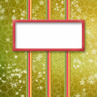 Multicoloured holiday frames for greetings or invitations — Stock Photo