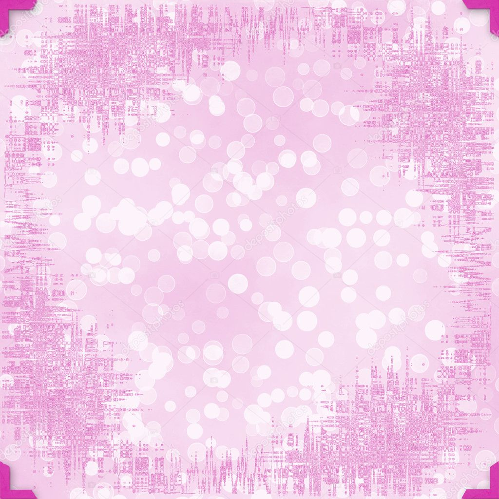 Greeting Card to holiday with frames on the pink background  Stock Photo #3859283