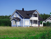 Rural house — Stock Photo