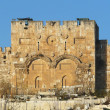 Gold gate of Jerusalem — Stock Photo